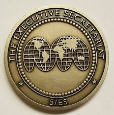 """United States Department Of State The Executive Secretariat SES Level Coin 1.75"""""""