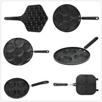 Multiple Hole Frying Pans Nons-tick Eggs Pancake Steak Pan with Mold for Cooking