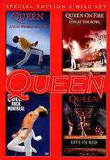 Queen: Live at Wembly/Rock Montreal/Live in Rio/On Fire - Live at the Bowl...