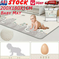 200/180CM Non-Slip Baby Carpet Game Mat Foam Puzzle Pad Baby Crawling Blanket AU