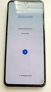 """READ LG V60 ThinQ Smartphone 128GB for GSM Unlocked 6.8"""" Blue LM-V600TM 068"""