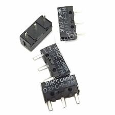 4x OMRON Micro Switches D2FC-F-7N(10M) For RAZER Logitech APPLE Mouse