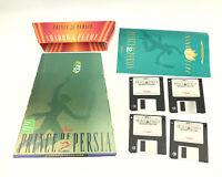 Prince Of Persia 2: Shadow & Flame (1993) Broderbund Big Box PC W/ Disc 1-4