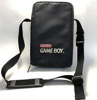 Vintage Nintendo Original Gameboy Black Carrying Case Bag w/ Strap