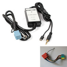 8pin iPhone5 MP3 3.5mm Interface Aux-in Adapter Cable For A2 A3 A4 A6 A8 TT