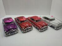 Diecast - 1/24 Jada 1953 Street Low Chevy Bel Air - Red, White or Purple