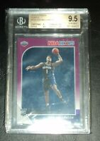 2019-20 NBA Hoops PURPLE Zion Williamson #258 - BGS 9.5 - Rookie Card RC
