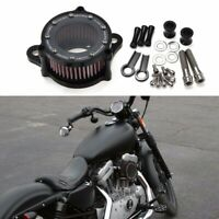 For 1988-2015 Harley Sportster XL 883 1200 Motorcycle Air Cleaner Intake Filter