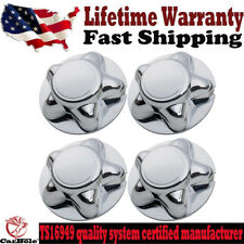 "4PC Chrome Center Hubcaps for Ford F-150 Expedition 97-00 W/ 16 x 7"" Steel Wheel"