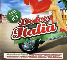 Dolce Italia Coffret Digipack  4 CD Compilation NEUF sous cellophane