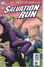SALVATION RUN N° 6 albo in Americano ed. DC COMICS