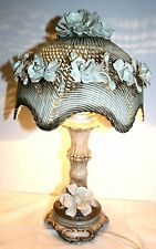 Lampe  de bureau  CAPODIMONTE style spaghetti 50 cm