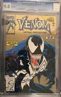 RARE GOLD Venom Lethal Protector #1 retailer variant CGC 9.4 NM White Pages