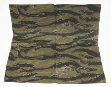 Tiger stripe camouflage 100% cotton 21 by 21 inch large scarf bandana new 5 PACK