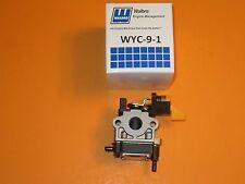 Genuine Walbro Carburetor WYC-9-1, WYC-9, Homelite, Ryobi, 985893001
