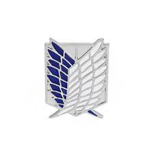 Attack On Titan Style Logo Pin Badge / Brooch Cosplay Anime Fancy Dress Gift UK