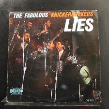 The Fabulous Knickerbockers - Lies LP VG+ CH-622 Mono Blue Lbl Vinyl Record