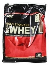 Optimum Nutrition ON Gold Standard 100% Whey Protein Powder 10LB 149SRV Exp.6/20