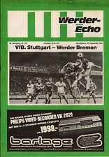BL 81/82 SV Werder Bremen - VfB Stuttgart, 19.12.1981