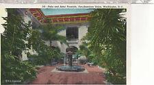 Patio  Pan American Union Building   Washington DC  Unused Postcard 62516