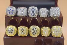 10pcs 1971 1977 1992 1993 1995 Dallas Cowboys Championship Ring --//-