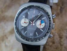 Tissot Navigator Rare Mens Stainless Steel 1970s Chronograph Vintage Watch MX154