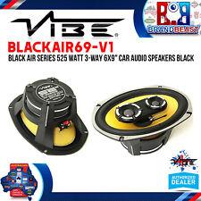 "VIBE Blackair69-v1 525w 6x9"" 3-way Coaxial Car Speakers"