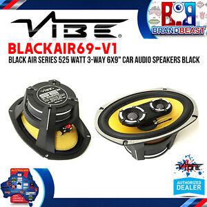 "Vibe BLACKAIR69-V1 525 Watts 6x9"" 3-Way Coaxial Speakers"