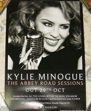 "Kylie Minogue The Abbey Road Sessions 2012 Taiwan Promo Poster (24""X16"")"