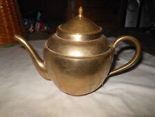 Solid BRASS TEA POT NO DESIGNS HEAVY INDIA?