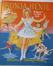 Olympic Star Sonja Henie Hollywood Ice Show Reproduction Paper Doll Book