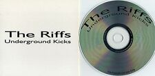 Récif-underground Kicks CD promo press invisibles Defiance Nice Boys portland punk