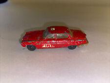 Vintage Husky Models Jaguar MK 10 Red Fire Diecast
