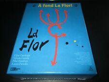 """COFFRET 4 BLU-RAY NEUF """"LA FLOR - INTEGRALE"""" de Mariano LLINAS"""
