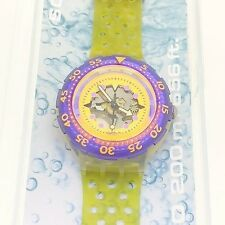 Swatch divers watch Hyppocampus SDK103 scuba 1991 new in box with papers