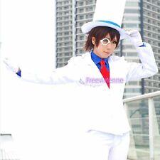 Japan Anime Detective Conan Kaito Kid Short Brown Anime Cosplay Wig