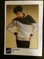 """Phildar Knitting Pattern:  Ladies Sweater, 32-38"""", 9033"""
