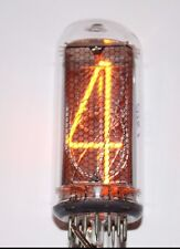 NEW 4 PCS IN-18 USSR NOS NIXIE TUBEs  WITH OTK /VIDEO!!!/TESTED/ 100% WORKING