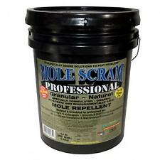 Mole Scram Professional Repellent - 22 LB Bucket