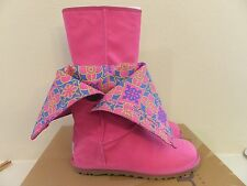 UGG Australia Womens 5 (Youth 3)  Lo Pro Marrakech Raspberry Canvas Pink Boots