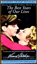 """""""The Best Years of Our Lives"""" (1946) ~ Myrna Loy - Fredric March ~ Vhs"""