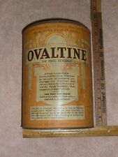 Vintage Trademark Ovaltine The Food Beverage Copyright 1921 Tin see picture
