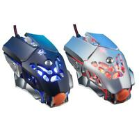 V9 USB Wired 2400DPI Adjustable RGB Macro Definition Programming Gaming Mouse