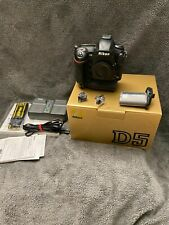 Nikon D5 20.8MP Digital SLR Camera - Body - 2 QXD Card Slot 32,444 clicks