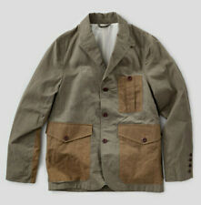 Nigel Cabourn Army Blazer Jacket in Army Mix Green Size 54