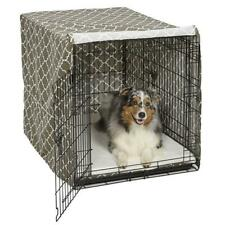 Midwest Metal Products 249520 42 in. BRN Pets Dog Crate Cover