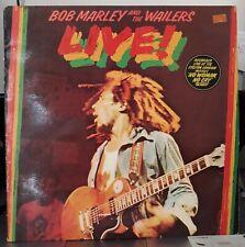 LP- Bob Marley & The Wailers – Live! - Island Records – 9123 003 France
