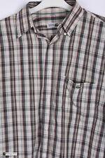 Chemise Lacoste Uomo Manica Lunga Regular Fit Camicia Casual Controllo Multi Taglia 38/39