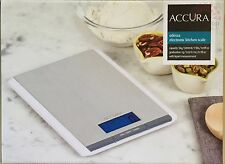 100% Genuine! ACCURA Odessa Electronic Kitchen Weight Scale White 5kg/5000ml!