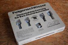 AEZ Felgenschlösser Felgenschloss Felgensicherung M12x1,5 42mm Konus 60 22907